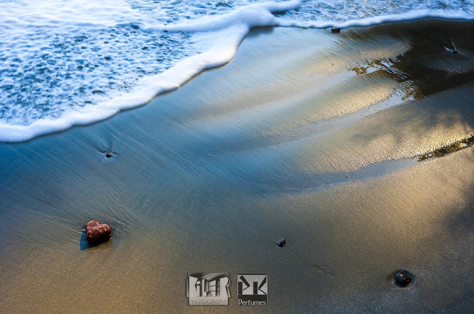 Heart Stone on Beach - PK Perfumes