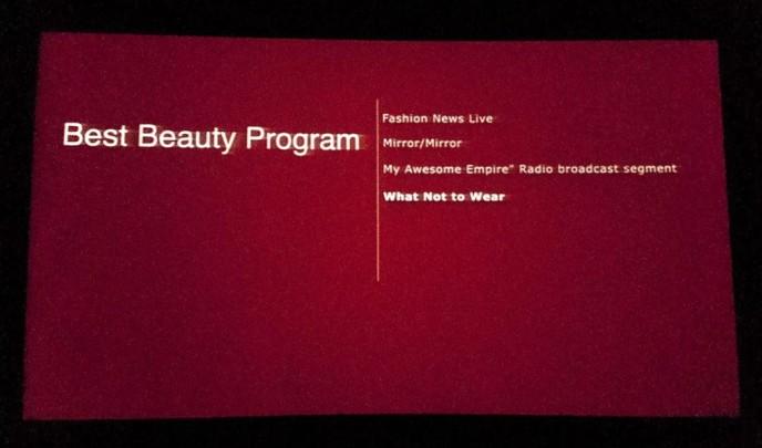 Awards Screen 1