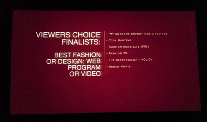 Awards Screen 2