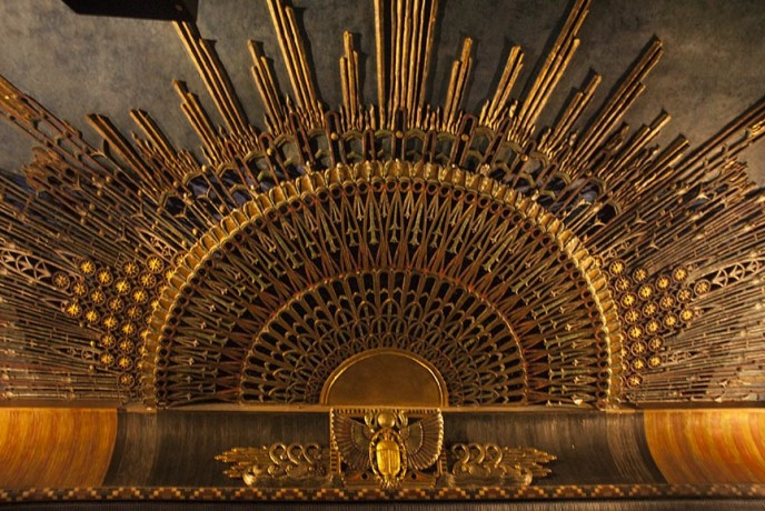 Egyptian Theater Hollywood Ceiling decoration