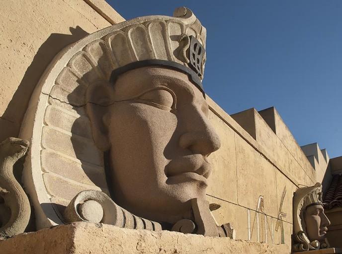 Egyptian Theater Sculptures