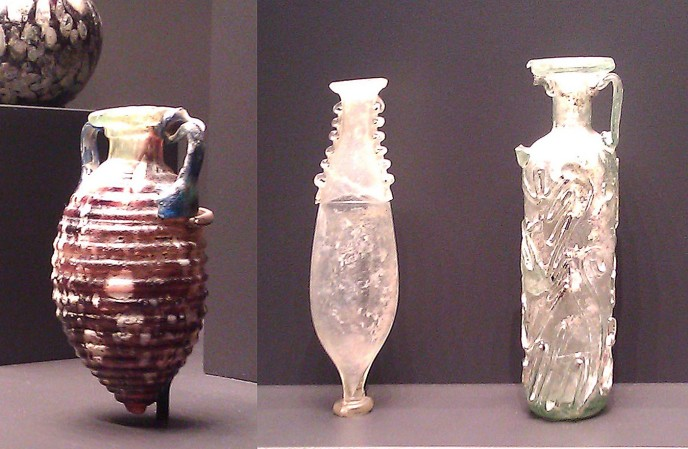 Glass Perfume Bottles 1